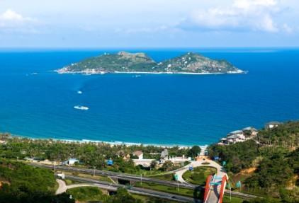 分界洲岛就是这样一个极具热带海岛风情特色的海岛型